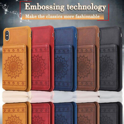 Sun Flower Anti-fall Phone case cover  For iPhone 6/7/8/X Samsung S8/9 Note8/9