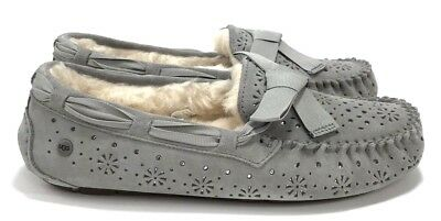 c98d1a17558 UGG - DAKOTA Sunshine Perf (Seal) Women's Moccasin Slippers / Shoes Size 7  NIB