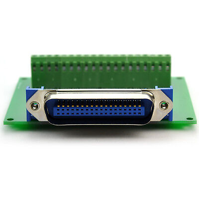 "36-Pin 0.085"" Centronics Male Ribbon Connector Breakout Board."