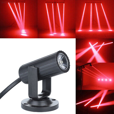 4CA6 Beam Lights Stage Lamp Disco Party Laser Projector Smart Portable RGB