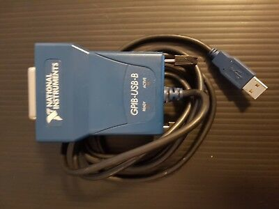 National Instruments GPIB-USB-B IEEE 488 GPIB Instrument Control Device