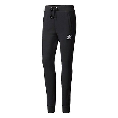 adidas Women's Track Suit Pants Sport Gym Casual Classic Black BP4585 Small