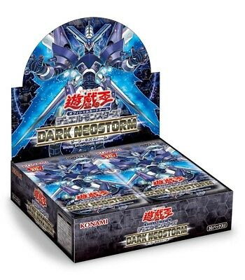 Yu-Gi-Oh YuGiOh DARK NEOSTORM BOX from Japan KONAMI ,NEW ,In stock
