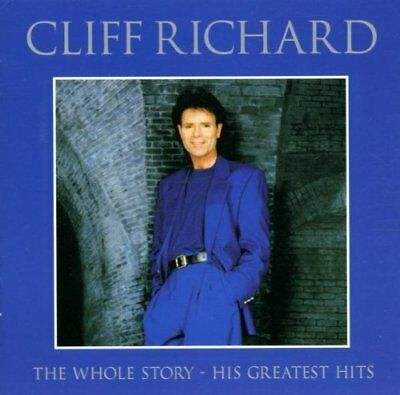 Cliff Richard: The Whole Story: His Greatest Hits (2 CD) Album (Very Best of)