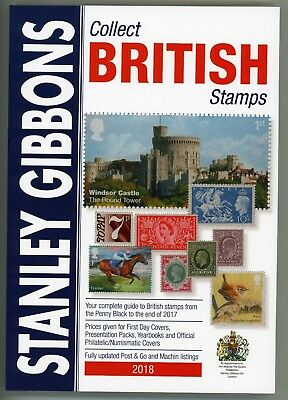 2018 Collect British Stamps by Stanley Gibbons FREE DELIVERY!