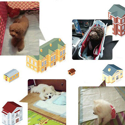 10 Pcs Disposable Dog Diapers for Pet Dogs Cat Super Absorbent Leak-Proof XS