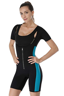 RIBIKA Sauna Suit for Women Neoprene Slimming Vest Body Shaper Sweat Weight Loss