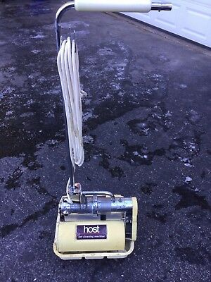 Host Model M Dry Extraction Carpet Cleaning Machine!