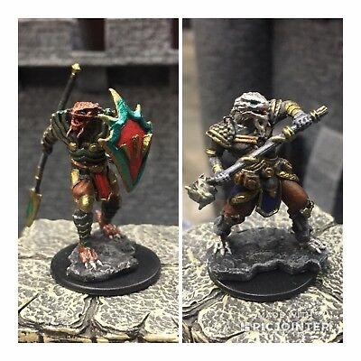 Nolzurs Marvelous Dragonborn Male Fighters Dungeons Dragons Hand