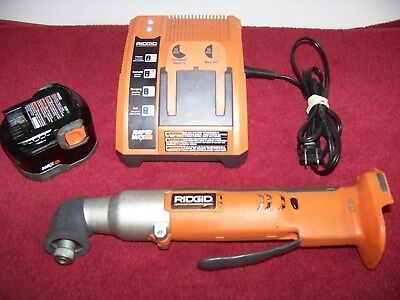 Ridgid R82233 12V Cordless Right Angle Impact Driver w/ Battery And Charger