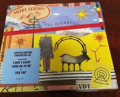 Egypt Station Paul McCartney BRAND NEW CD - Limited Edition Concertina - Sealed