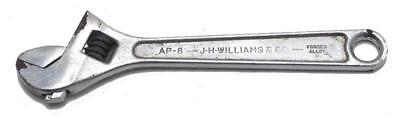"""J.H.Williams AP-8 Crescent 8"""" Adjustable Superjustable Wrench Made USA Used"""
