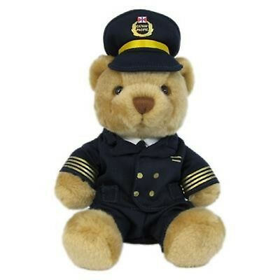 Cathay Pacific Airlines Pilot Bear Modern Edition 9 inch Collectible Plush Toy