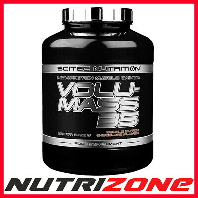 SCITEC NUTRITION VOLUMASS 35 PROFESSIONAL Advanced Whey Protein BCAA + Creatine