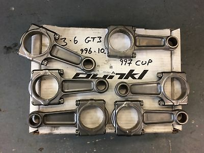 Titanium Porsche Pankl Con Rod Set for 996 / 997 GT3 & GT3Cup 3.6L