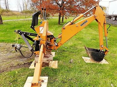 Backhoe Attachment 4 Tractor (3 Point)