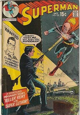 Superman #230 (Oct 1970, DC) GD/VG