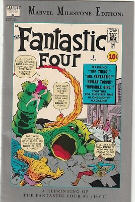 Marvel Milestone Edition Fantastic Four #1 Reprint Fn/vf