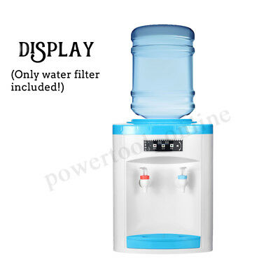 220V Portable Water Filter Machine Warm Water Cooler Dispenser Table Top New UK