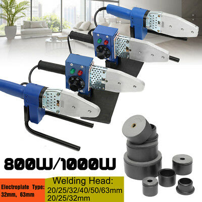 Automatic Electric Pipe Welding Machine Temp Adjustable Heating Tool PPR PE