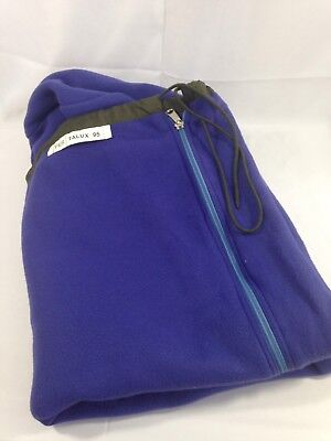 Military Army Surplus Purple Adult Fleece Sleeping Bag Liner 80 inch