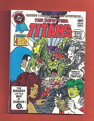 Best of DC Digest size New Teen Titans 18 WAREHOUSE FIND 1981 Others Available