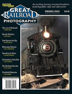 GREAT RAILROAD PHOTOGRAPHY: 8 exciting railroading essays in COLOR, 100 pages