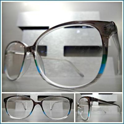 063f040bd8ee Classy Elegant Exotic Retro Style READING GLASSES READERS Gray RX Optical  Frame