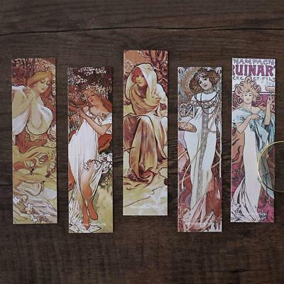 30pcs Bookmarks Vintage Women Bookmark Stationery Office School Supplies Gift