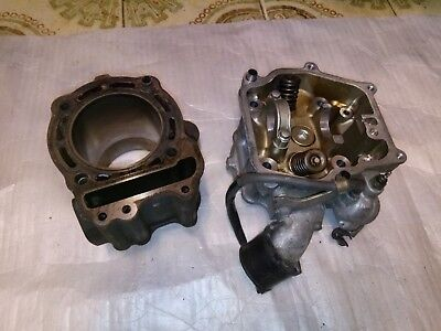 Honda Foresight Fes250 Cylinder Head And Barrel