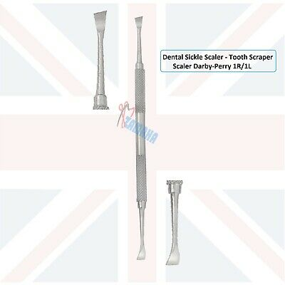 Darby-Perry 1R/1L Scaler Sickle Scaler, Dental Pick, Scaler-Periodontal Scalers