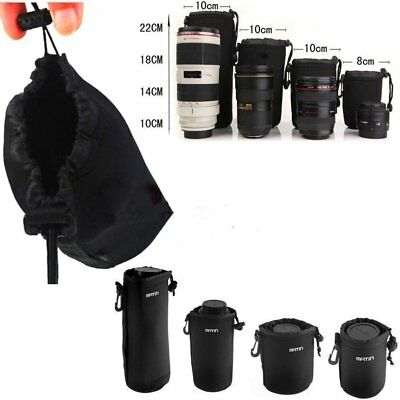 Matin Neoprene waterproof Soft Camera Lens Pouch bag Case Size S-XL SD