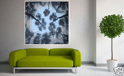 "47"" Large Tree Flower Bush Painting Australia Landscape Forest Art By Jane"