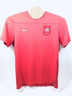 hot sales 8f4d1 21635 FRANCE NIKE NATIONAL Soccer Football Team Jersey FFF Red ...