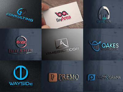Professional Custom/Business Logo Design, Unlimited Reviews, 24-48Hrs Delivery