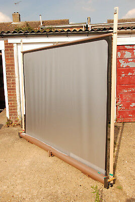 Silver Surface Projection Screen 8ft x 6ft approx.