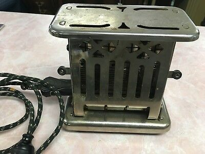Vintage/Antique THERMAX Toaster E3412 B Pat. July 28, 1913-Working condition