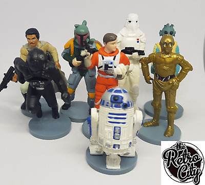 Vintage Applause Star Wars Action Figures 1995-1998 Mini Figures Cake Toppers