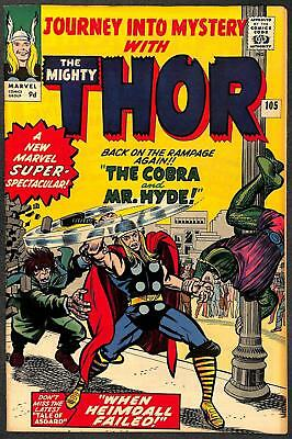 Journey Into Mystery with Thor #105 VFN-