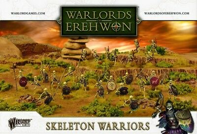 Warlords Of Erehwon Skeleton Warriors - Warlord Games - Fantasy