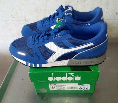 9b4f24c64a06ff Diadora titan II 44 eu 10 usa NEW S 8000 MADE IN ITALY VINTAGE RUNNING RETRO