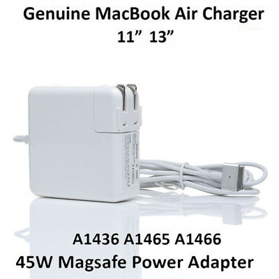 "45W 14.85V Charger Adapter Power Cord Apple Macbook Air 11"" 13"" A1466 A1436 Lot"