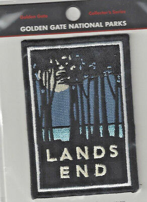 Lands End Golden Gate National Parks Souvenir Patch