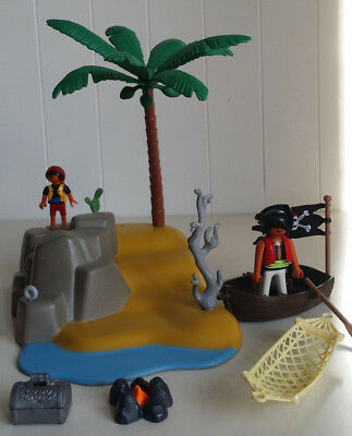 Playmobil 4139 Schatzinsel, Piraten, Ruderboot