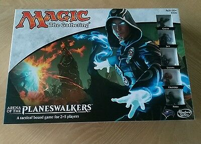 Magic The Gathering Arena of the Planeswalkers Board Game Hasbro 2014 Sealed Box