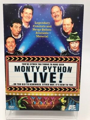 Monty Python Live (DVD, 2001, 2-Disc Set) Box Set