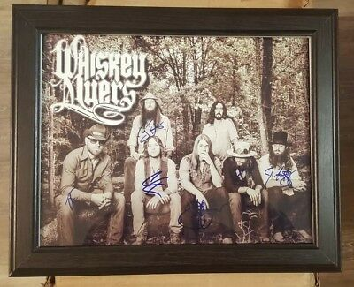 Rock & Pop Entertainment Memorabilia Whiskey Myers Rock Band Hand Signed 11x14 Autographed Photo W Coa Buy One Give One