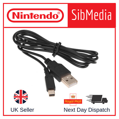 Nintendo 3DS 2DS DSi 2 in 1 USB Charger Data Sync Power Cable Charging Lead