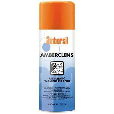 Ambersil Ambercleans Anti-Static Foaming Cleaner 400ml Aerosol