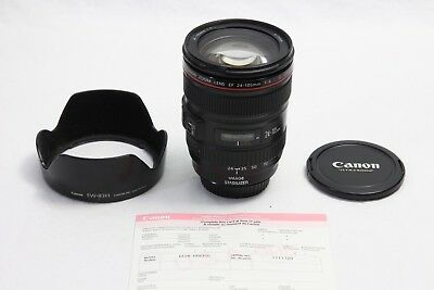 Canon EF 24-105mm f/4 L IS USM Lens GREAT SUPER SHARP EOS DIGITAL Camera